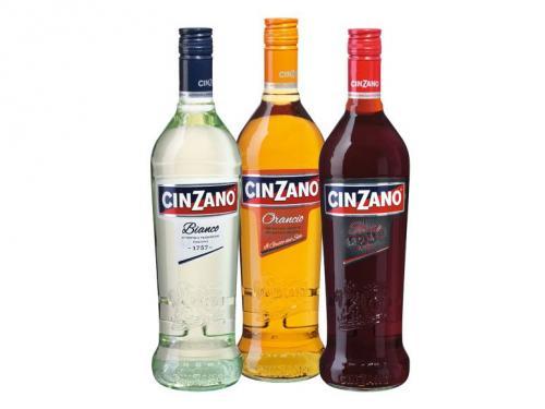 CINZANO Weinaperitif 0,75l (Bianco, Orancio, Rosso oder Limetto) für 2,99 € [nur heute bei LIDL]