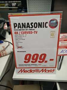 [Lokal MM Mainz] Panasonic TX 55 CRW 434