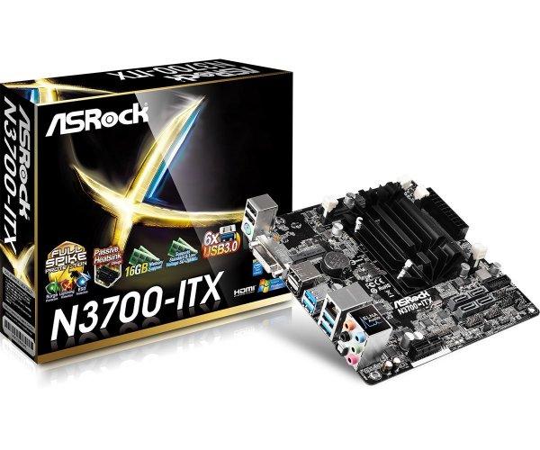 [Amazon.co.uk] ASRock N3700-ITX (Mainboard im mITX-Format inkl. CPU) (Intel N3700 [passiv gekühlt], 2x DDR3L Dual, HDMI + DVI + DP + 4x USB 3.0 + Gb LAN) für 70,16€