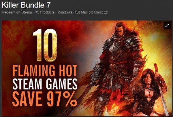 [Steam] Killer Bundle 7 für 4,74€ @ Bundle Stars