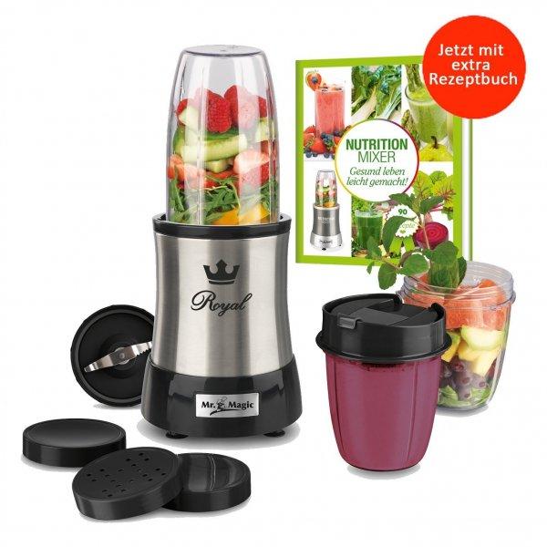 Nutrition Mixer Mr. Magic Edelstahl (Smoothie Maker, Mixer) Bestpreis über 40% Ersparnis