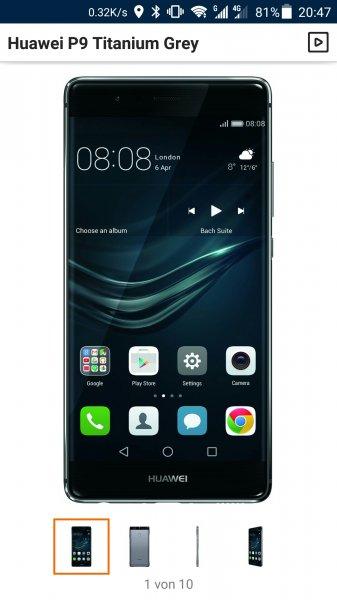 Deutschlandweit, Media Markt, Huawei P9