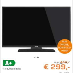 "Saturn Latenight: PANASONIC TX-39DW304 für 294€ - 39"" TV"