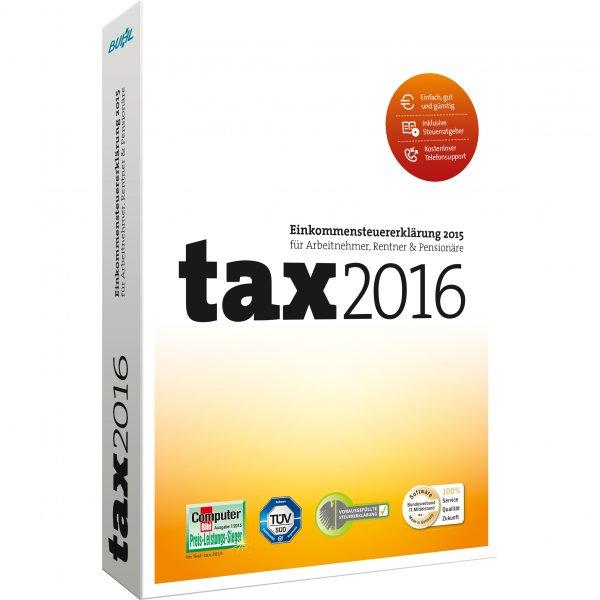 [Amazon.de] Buhl Data tax 2016 - für Steuererklärung 2015 als Download oder CD-Version (mit Prime) für 5€