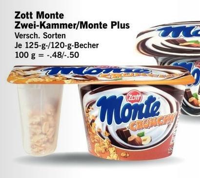 [LIDL KW18] 3xZott Monte Zwei-Kammer-Becher für 0,26 € pro Stück (Angebot+Scondoo)