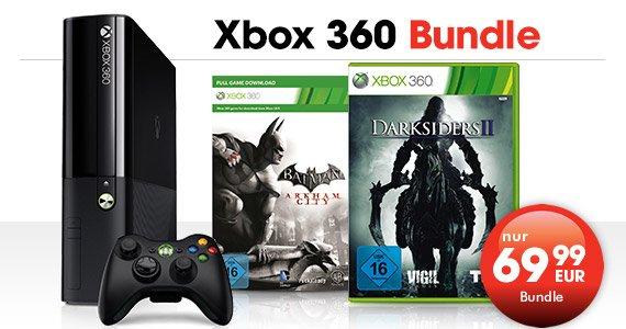 [GameStop Bad Oeynhausen] XBOX 360 250GB mit Darksiders 2 und Batman Arkham City - zur Eröffnung am 29.4.