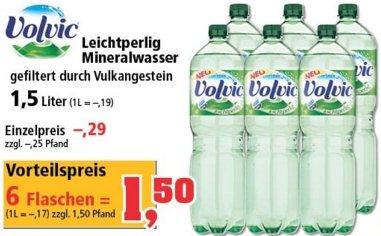 Thomas Philipps - Volvic Mineralwasser leichtperlig 1,5L 6er Pack - seit 25.04