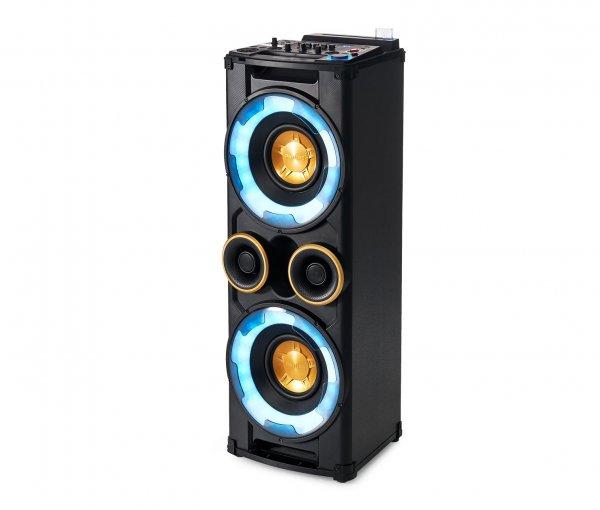 [Tchibo] Philips NTRX500/10 Party Tower-System (650 Watt, Bluetooth, NX Bass, CD, dynamische LED-Beleuchtung) schwarz