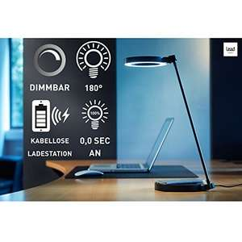 [Amazon Marketplace] LED Tischlampe inkl. QI-Ladestation für 24,00€ statt 48,00€