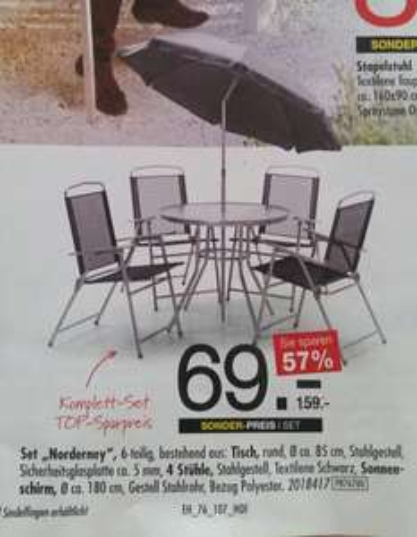 Gartenmöbel Set Lokal bei Hofmeister Bietigheim und Sindelfingen
