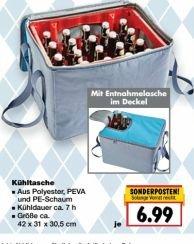 [Kaufland ab 02.05.] Kühltasche für Bierkästen für 6,99€