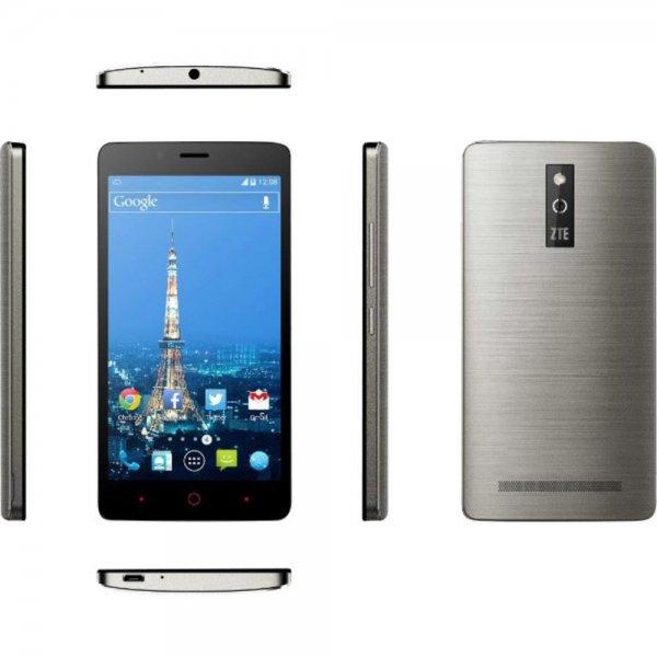 """(Conrad.de) ZTE Blade V220 LTE Smartphone - 5"""" HD Display, 4x 1.20GHz, 1GB Ram, 8GB (erweiterbar), 13 MP Kamera, wechselbarer Akku, Android 4.4 für 70€"""
