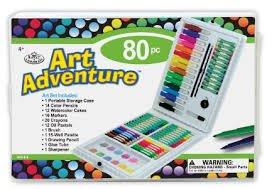 (Amazon Prime )Royal & Langnickel AVS 516 - Art Adventure, 80-teiliges Set