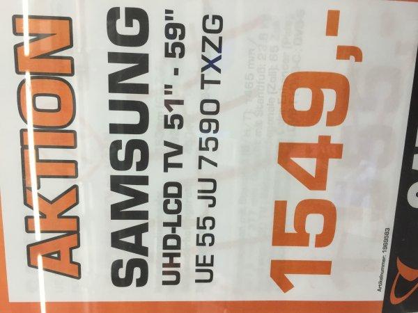 Samsung 55JU 7590 Saturn Witten