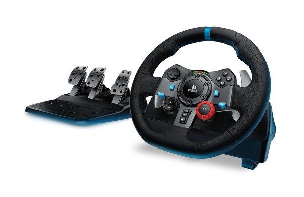 Logitech G29 Racing Lenkrad Driving Force für PS4, PS3 und PC für 238,65 € @ Amazon UK (zusätzlicher Stromadapter notwendig)