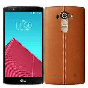 (Rakuten.co.uk) LG G4 (5,5x27x27 QHD IPS Display, Snapdragon 808 Hexacore, 3GB RAM, 32GB , 16MP Kamera, 3000 mAh wechselbar, Android 6) für 290,73€