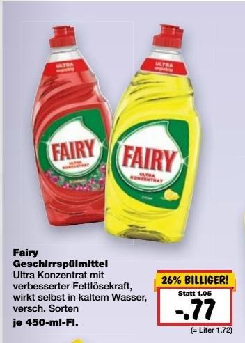 Fairy ~ Kaufland Burghausen / Neuötting (vielleicht auch Bundesweit)