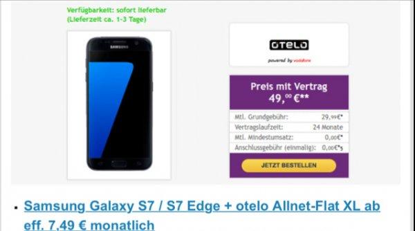 Otelo Allnet-Flat XL Samsung Galaxy S7