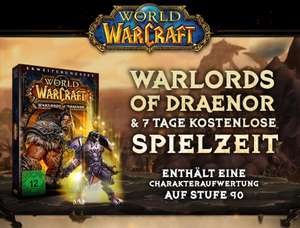 [Battle.net] Gratis Warlords of Draenor + 7 Tage Gametime für (alle?) inaktiven Accounts mit MoP