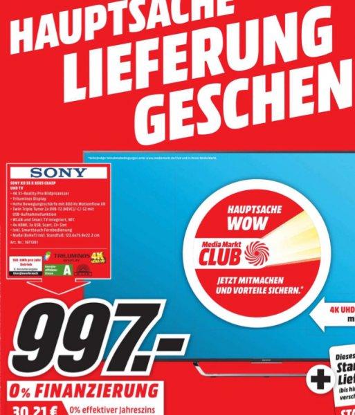 [LOKAL Bielefeld] Sony 55x8505 CBEAP
