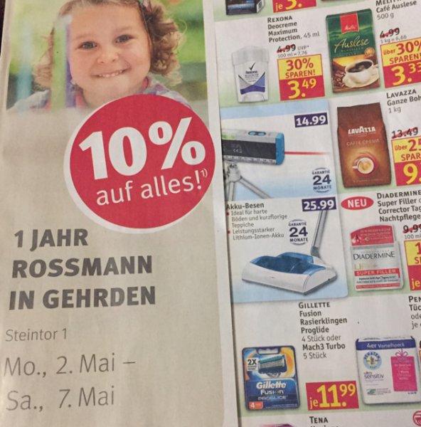 Rossmann Gehrden feiert Geburtstag
