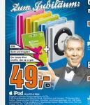 [offline] iPod Shuffle 2GB inkl. 15 € iTunes Gutschein