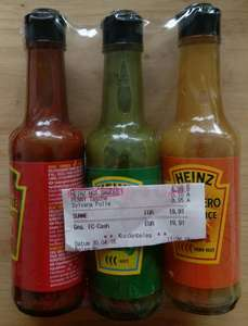 Heinz Hot Sauces 3er Pack (Penny, Lokal?)