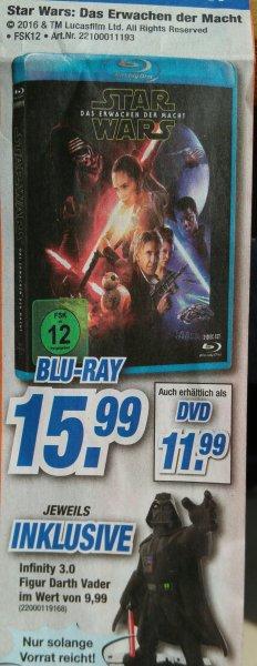 [Expert Schwaben Franken] Star Wars: Das Erwachen der Macht Blu-ray inkl. Darth Vader Infinity