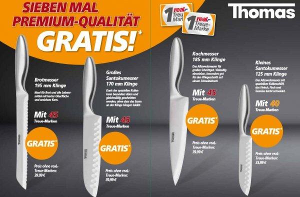[Real Offline] Real Treue-Marken bis 6.8.2016 sammeln, bis 20.8.2016 einlösen und Thomas Messer sichern ohne Zuzahlung!