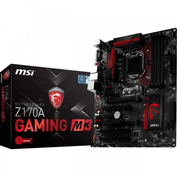 MSI Z170A Gaming M3 Mainboard versandkostenfrei bei ARLT für nur effektiv 89 € durch Cashback