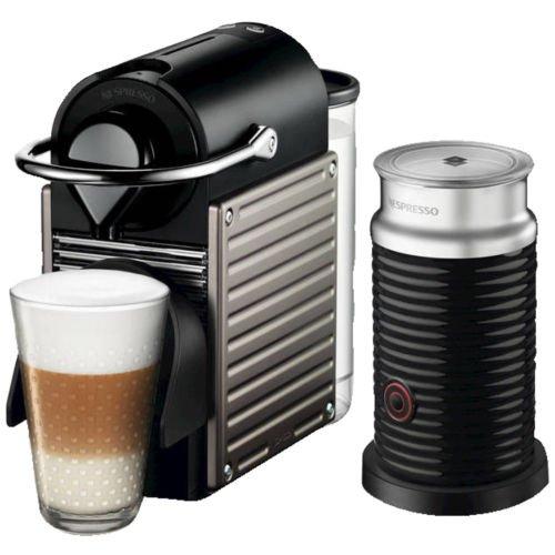 Ebay - Saturn - KRUPS XN301T Nespresso Pixie, Nespresso, Kapselmaschine mit Aeroccino für 99€
