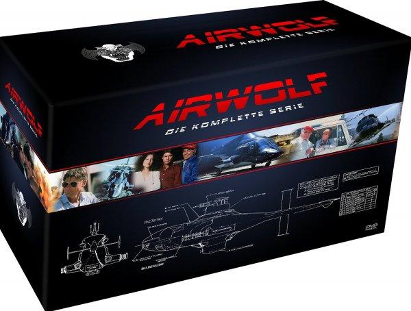 [Saturn] Airwolf - Die komplette Serie (21 DVDs) für 44,99€
