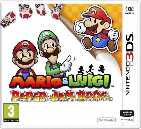 Mario & Luigi: Paper Jam Bros. (3DS) für 23,31€ von Amazon IT