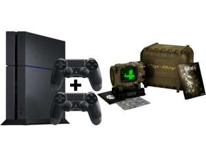 [Mediamarkt.at] SONY PlayStation 4 1TB Ultimate Player Edition (CUH-1216) inkl. 2 Controller + Fallout 4 Pip-Boy Edition für 379€ inkl. Versand nach DE