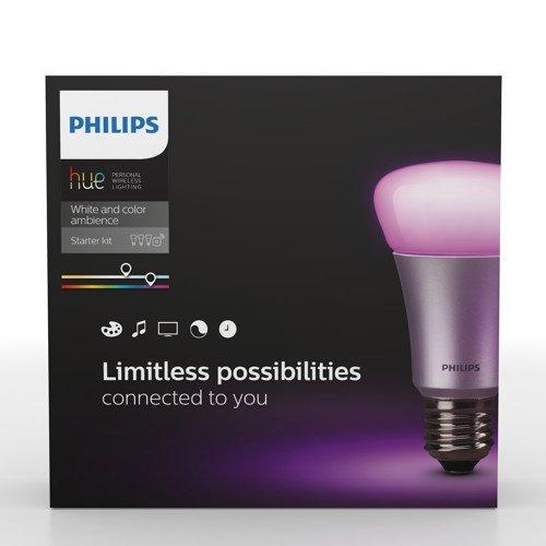[Amazon.de] PHILIPS Hue Starter Set inkl. 3 RGBW Lampen (E27) und einer Bridge für 144,85 € Versandkostenfrei