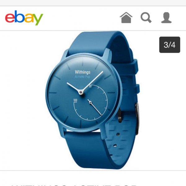 Withings Pop Active Smartwatch für 89€ PREISVORSCHLAG + versandkostenfrei