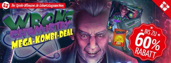 Wrong Chemistry Mega-Kombi-Deal (Brettspiel, Spiele-Offensive.de)