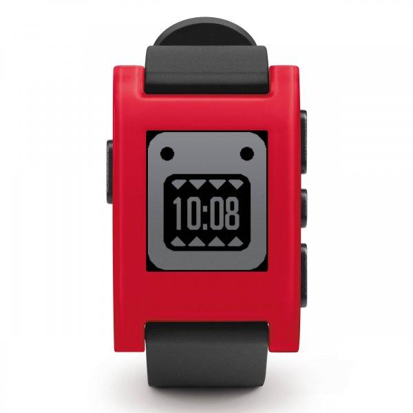 Pebble Smartwatch rot und weiß für 57,90 € > [zack-zack] > Flashsale > Vsk frei