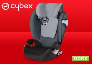 [Segmüller Lokal]CYBEX Solution M-fix, Autositz Gruppe 2/3 (15-36 kg), Kollektion 2015, Moon Dust durch Coupon für 129€