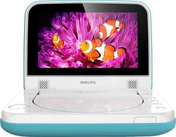 Philips PD7006B, Wasserfester 7-Zoll Tragbarer DVD-Player; 99,- € +VSK @Schwab.de