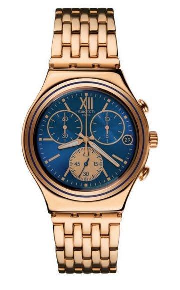 Swatch Chronograph Blue Win YCG409G (ab 88€ möglich) für 99,99€ (idealo/Heise ab 150€)