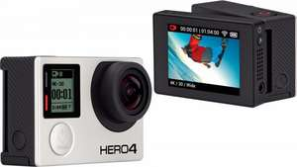 [OTTO] GoPro HERO 4 Black Adventure & LCD Touch BacPac für 421,80€