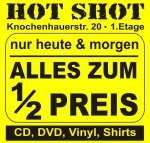 [Lokal Bremen] 50% auf ALLE Artikel (CD, DVD, BR, Vinyl) bei Hot Shot