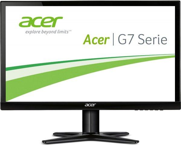 Acer 27 Zoll Monitor (VGA, DVI, HDMI, Full HD, 4 ms Reaktionszeit, EEK A) schwarz