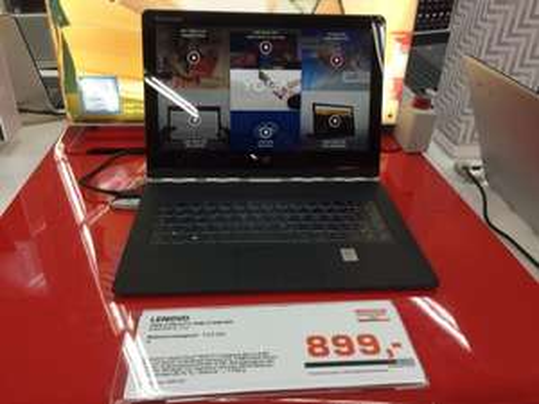 [Lokal] Hamburg Saturn Lenovo Yoga 3 Pro 512 GB SSD 5Y71 8GB Ram