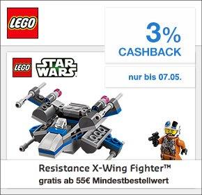 Resistance X-Wing Fighter™ im Wert von 9,99€ kostenlos bei MBW von 55 Euro