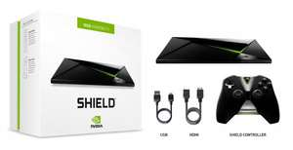 [Rebuy] Nvidia Shield mit 16GB inkl. Controller (4K Streaming und Gaming Konsole mit Android 6 / Fusion Storage) für 138,98€ [Zustand: gut]
