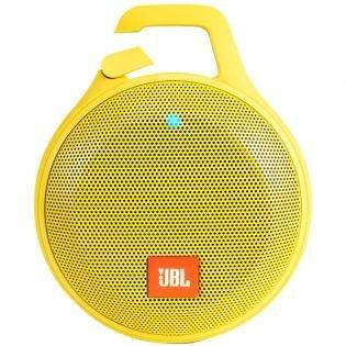 [Notebooksbilliger] JBL Clip+ (gelb) - tragbarer Bluetooth-Lautsprecher (Bluetooth, AUX-In, 5 Std. Akku, Spritzwasserfest)