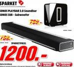 [Mediamarkt Porta Westfalica Bundesweit] Sonos Playbar + Sonos SUB für 1200,-€ oder einzeln für je 650,-€ Versandkostenfrei