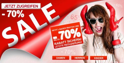 Sale bei imwalking.de bis zu 70% Rabatt + 10€ neukunden gutschein